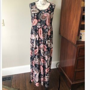 🌹Now N Forever Maxi Dress NWT!! Lightweight!